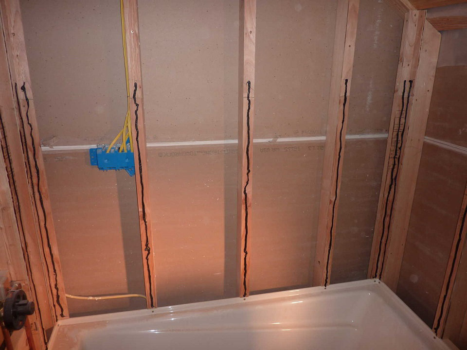 How To Waterproof A Tile Tub Surround Scott Herndon