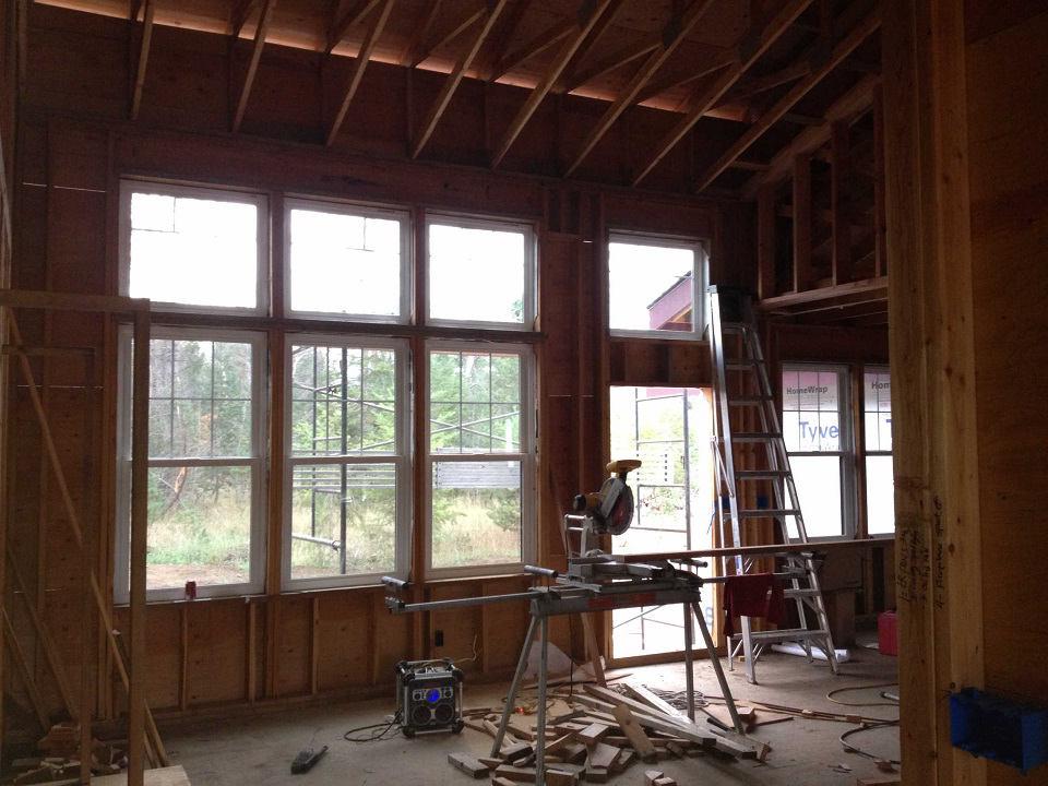 Sandpoint contractor installs milgard windows scott for New construction windows online