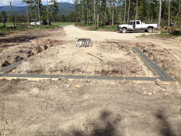 Concrete Footer And Stem Wall Construction Scott Herndon
