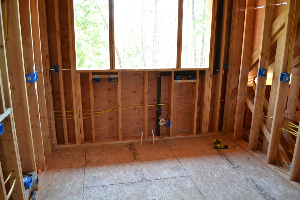 Electrical Rough-In Video Tour | Scott Herndon Homes General ...