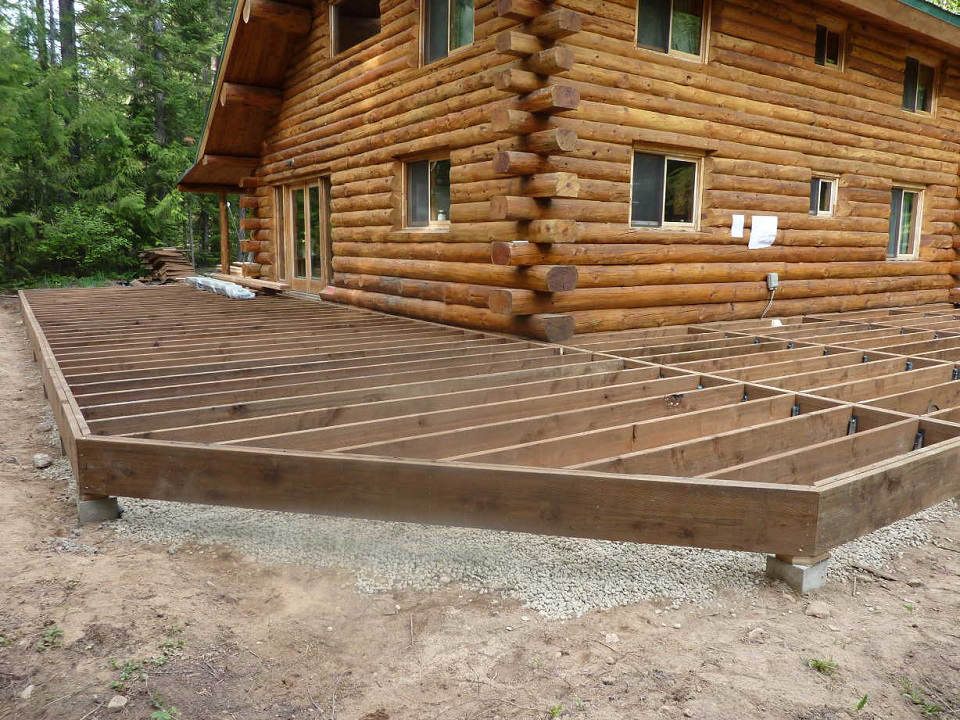 Sandpoint Treated Deck Framing